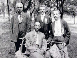 Founding members of the Niagara Movement.