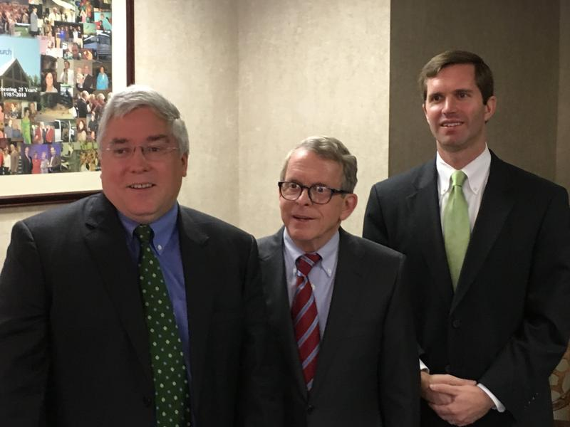Patrick Morrisey, Mike DeWine, Andy Beshear