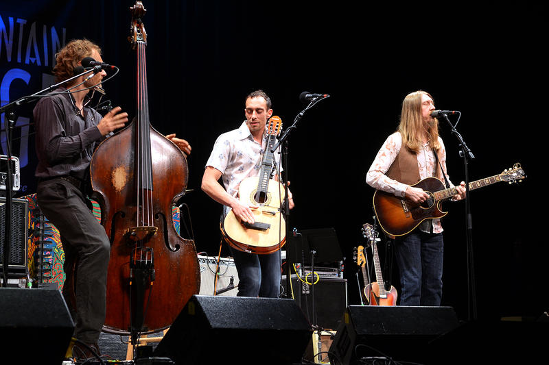 The Wood Brothers performed on NPR's Mountain Stage in May 2016.