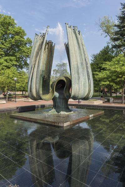Marshall University Memorial Fountain