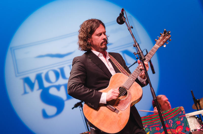 John Paul White performs on NPR's Mountain Stage in November 2016