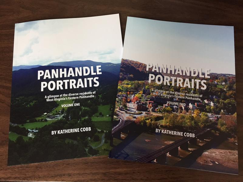Katherine Cobb's coffee-table book set, Panhandle Portraits.