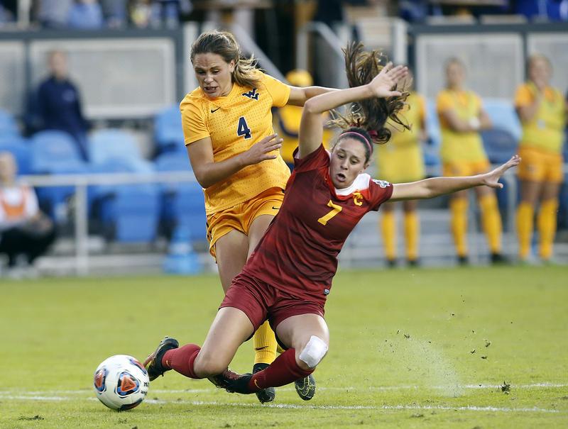 WVU Women's Soccer - USC