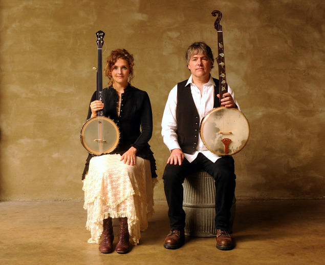 """The First Family of the Banjo,"" Béla Fleck & Abigail Washburn will return to the Mountain Stage in 2017."