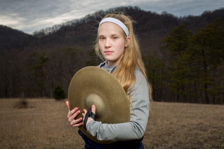 Frankfort High School Freshman Abigail Craddock.
