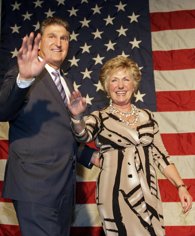 Joe and Gayle Manchin