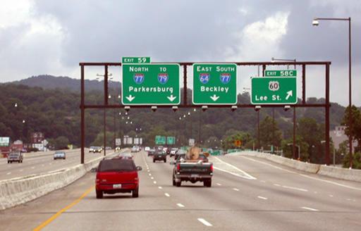 I-64 Charleston