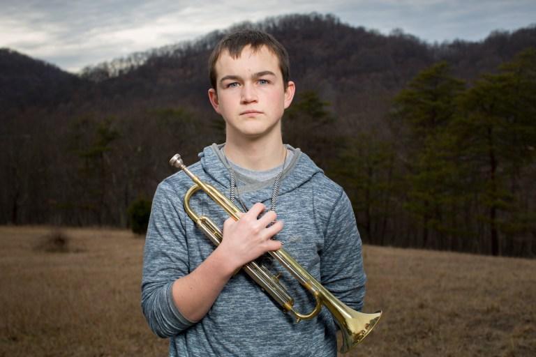 Frankfort High School Freshman Micah Lewis.