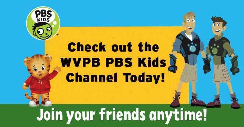 WVPB PBS KIDS Channel   West Virginia Public Broadcasting