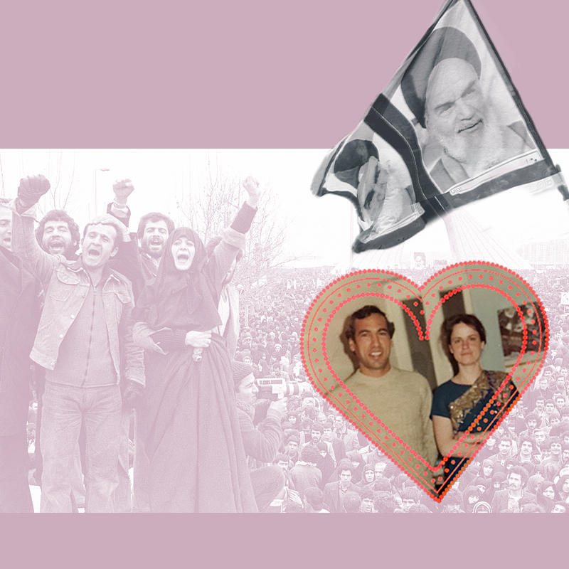 How one couple triumphed over the hatred between America and Iran.