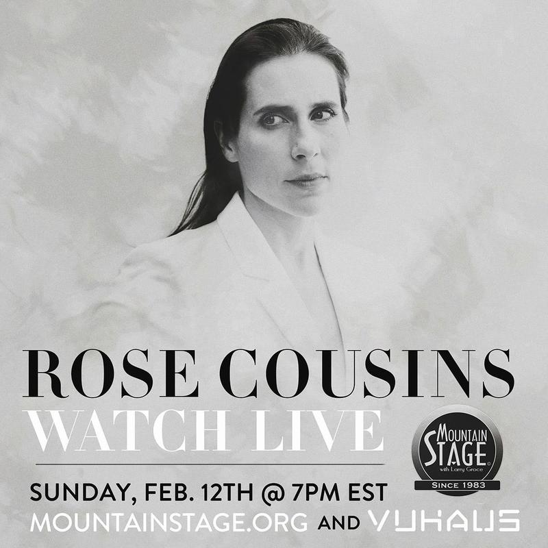 Rose Cousins returns to Mountain Stage February 12.