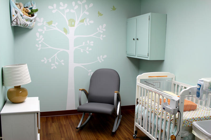 A nursery where drug-affected babies are treated at Lily's Place in Huntington, W.Va.