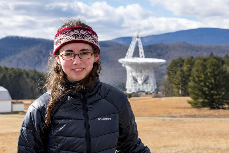 Ellie White of Barboursville, West Virginia, and her family launched a campaign called Go Green Bank Observatory to persuade the National Science Foundation to not divest from Green Bank Observatory.