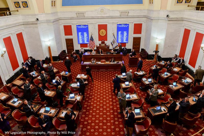 The West Virginia Senate.