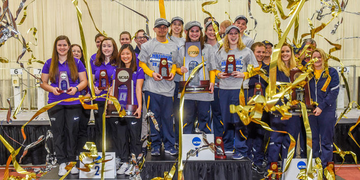 WVU RIfle Team 2017 Title