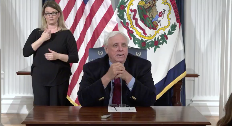 """""""I really believe that we are not there yet, but I do believe that we are on the cusp,"""" said Gov. Justice during a 10 p.m. Saturday news conference in the Governor's Reception Room."""