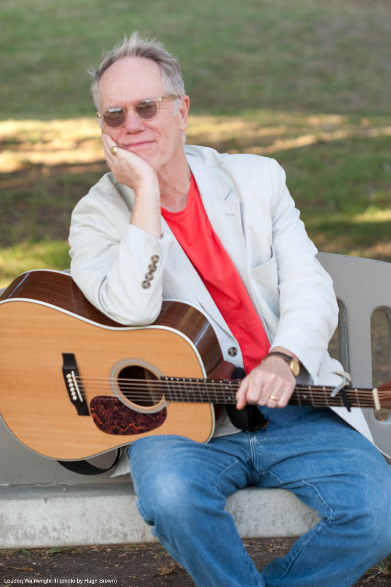 Grammy winner Loudon Wainwright has been coming to Mountain Stage since 1988. He returns this Sunday in Charleston.