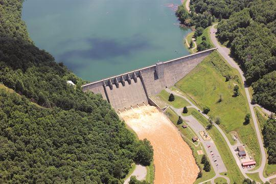 Sutton Lake Dam