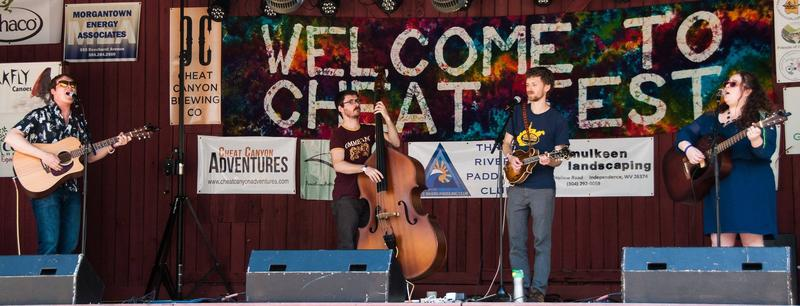 Apple Pappy are an Appalachian four-piece based in Morgantown.