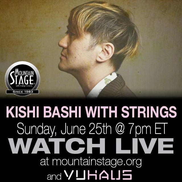 Kishi Bashi returns to Mountain Stage June 25.