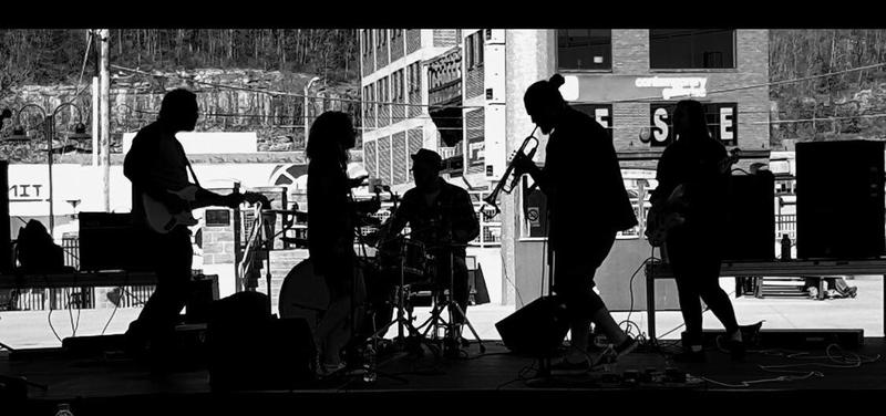 The Dividends perform at Appalachian Power Park in Charleston, WV.