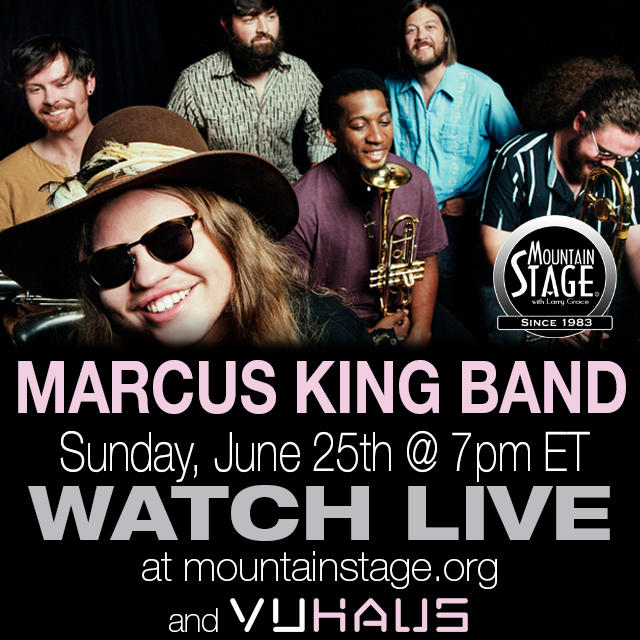 Marcus King Band make their Mountain Stage debut June 25.