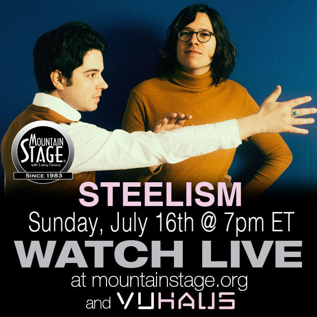 Instrumental rockers Steelism bring their pysch-surf style back to Mountain Stage on July 16. Watch live from anywhere via VuHaus.com and MountainStage.org
