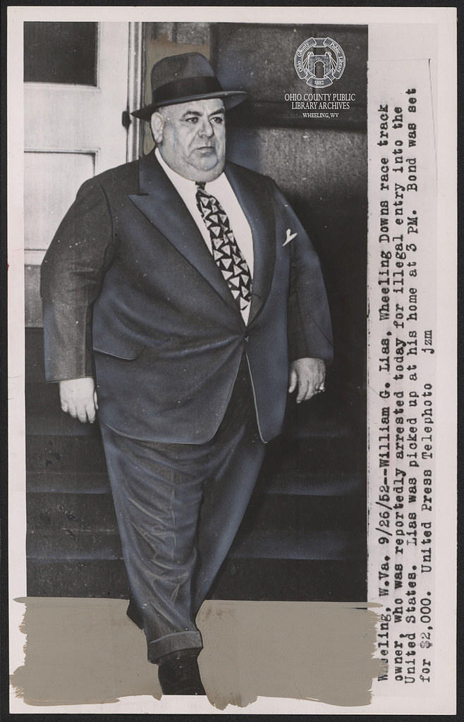 "William ""Big Bill"" Lias Arrested, September 26, 1952"