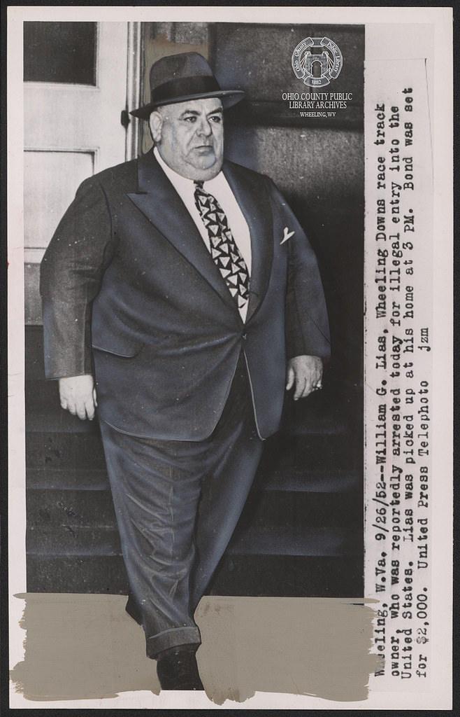 "William ""Big Bill"" Lias Arrested, September 26, 1952"