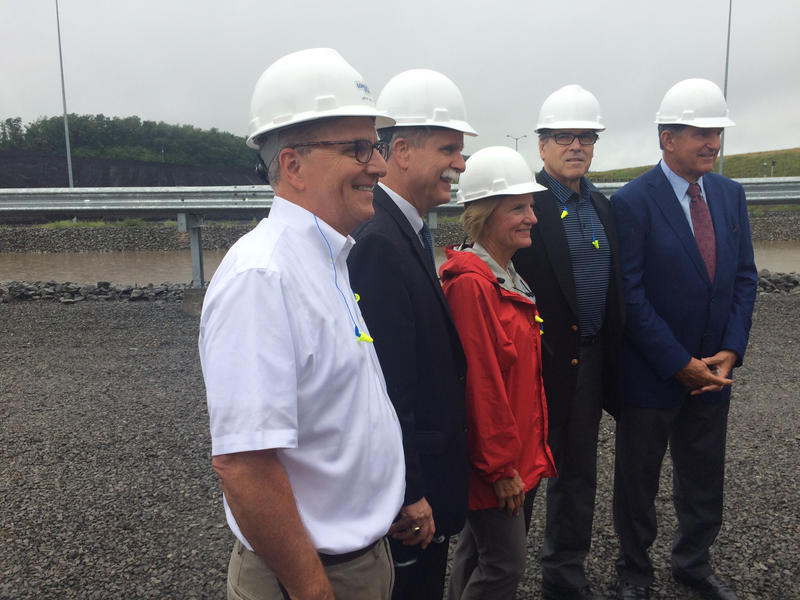 Rick Perry at Longview Power Plant