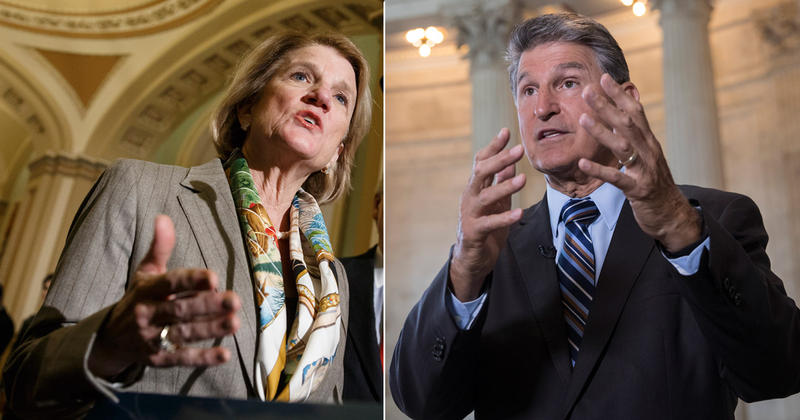 Shelley Moore Capito and Joe Manchin