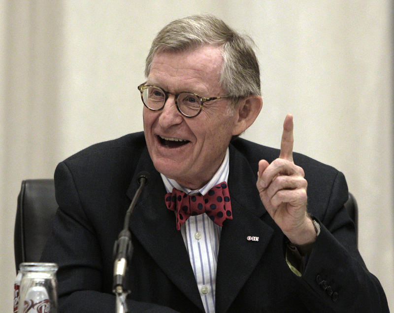 West Virginia University President E. Gordon Gee. (File Photo)