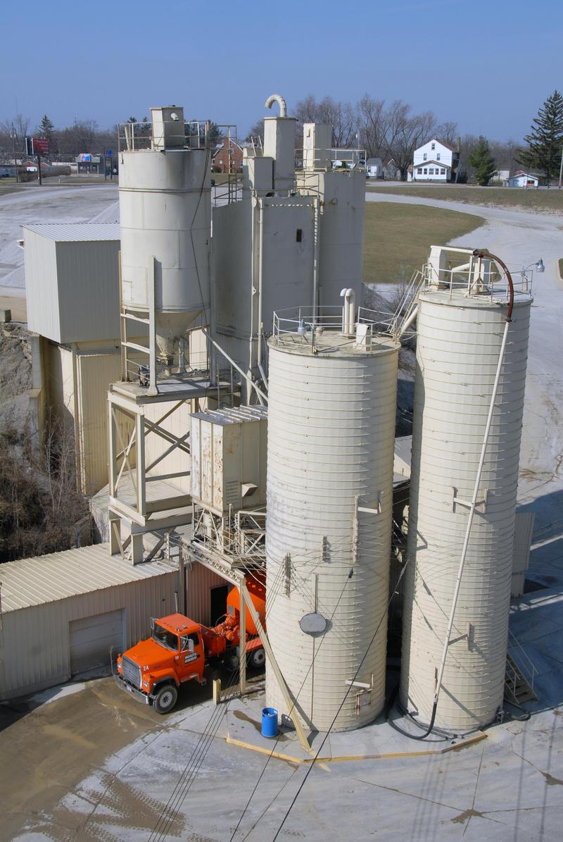 Concrete plant, Mansfield OH