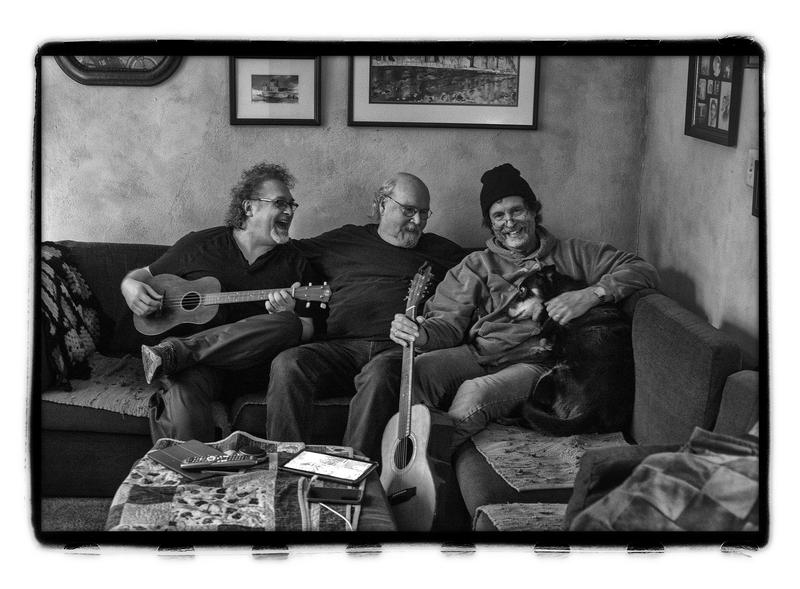 Tom Paxton, center, will perform with Don Henry (Left) and Jon Vezner, as the DonJuans, this Saturday in Elkins.