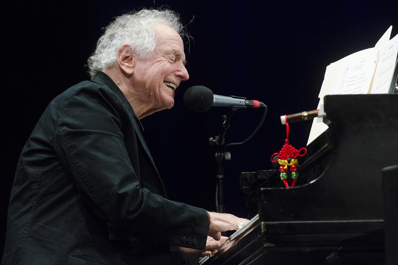 David Amram performs on Mountain Stage