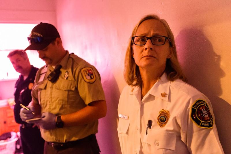 Huntington fire chief Jan Rader is one of three women profiled in Heroin(e), a new film that takes a look at the heroin crisis in Huntington, West Virginia.