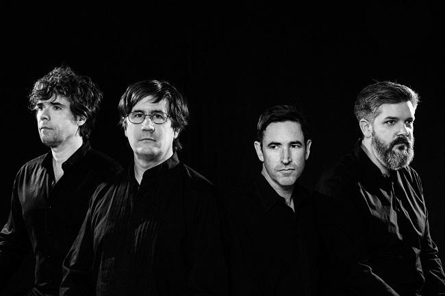 The Mountain Goats, John Darnielle, Peter Hughes, Matt Douglas, and Jon Wurster, will join us December 3 for Mountain Stage's 34th Anniversary.
