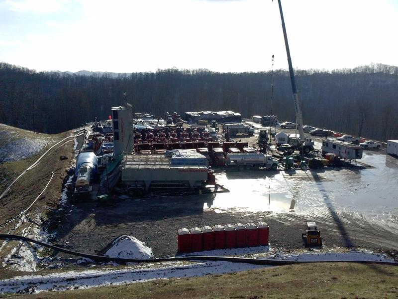 EQT built a 20-acre well pad in Doddridge County where landowners had not given expressed permission.