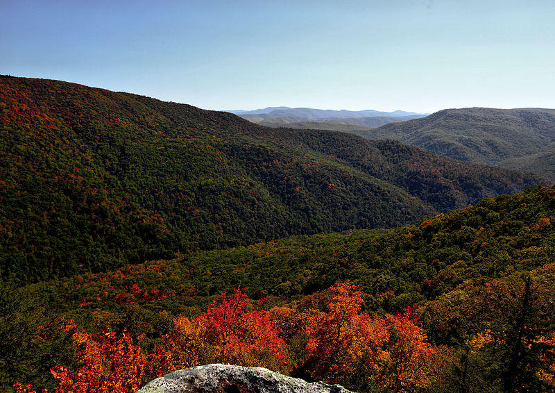 Mountains, West Virginia, Autumn