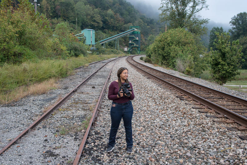 Reporter Mahlia Posey reports near the Viking Wash Plant in Justiceville, Kentucky as part of The GroundTruth Project's