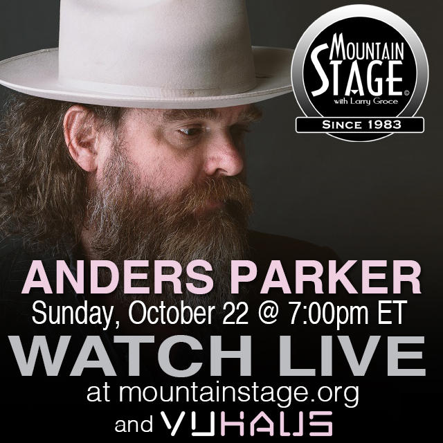 "Anders Parker returns to Mountain Stage to perform songs from his latest release, ""The Man Who Fell From Earth,"" along with a string trio."