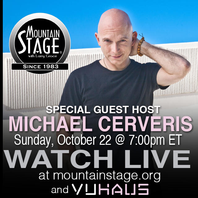 Tony award winner and Huntington native Michael Cerveris steps up to the host's microphone this Sunday in Charleston.