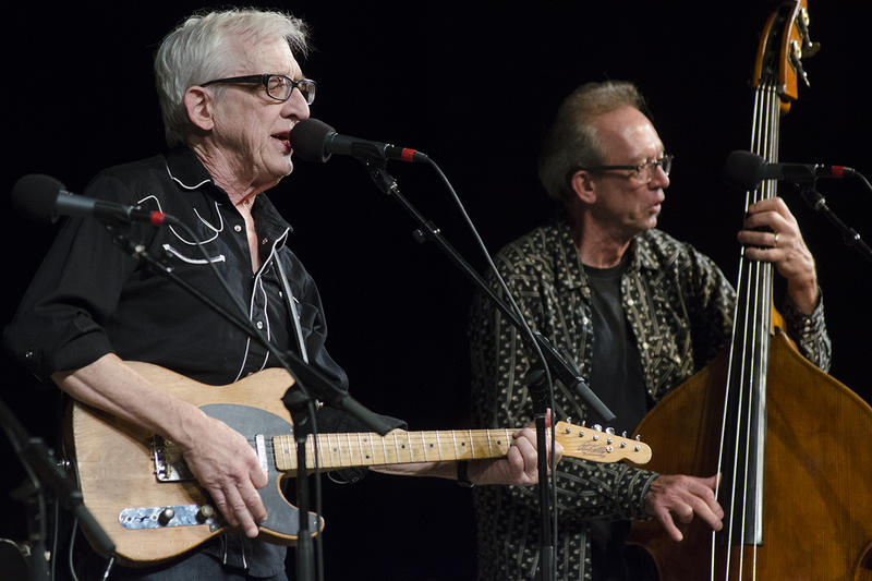 Bill Kirchen performs on Mountain Stage during the Augusta Heritage Festival