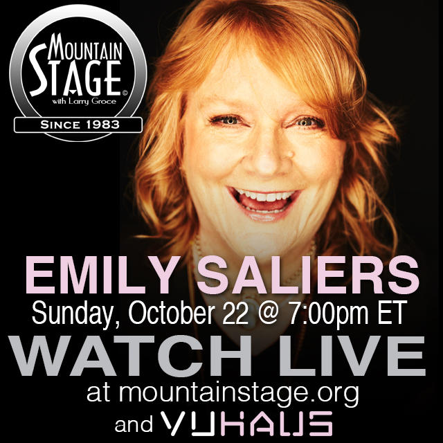 "Emily Saliers of Indigo Girls has released her first ever solo album, ""Murmuration Nation,"" and she'll perform songs from it at this Sunday's Mountain Stage taping."