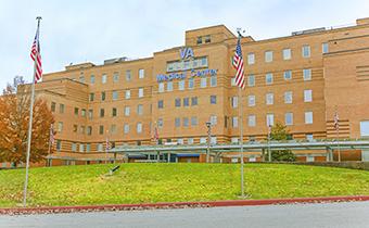 The Hershel Woody Williams VA Medical Center in Huntington, WV.