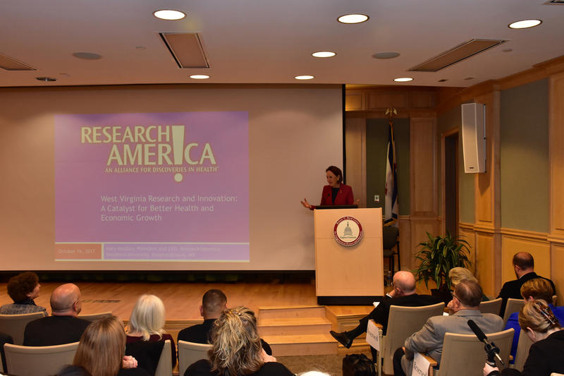 Mary Woolley, Research America, Research!America, Shepherd University
