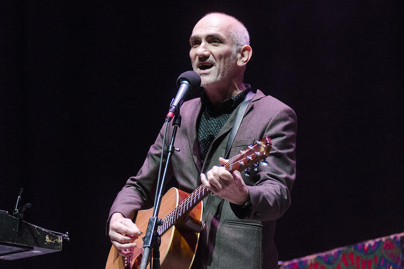 Australia's Paul Kelly brought his whole band to perform on Mountain Stage. You can hear their set this weekend on 200 NPR stations.