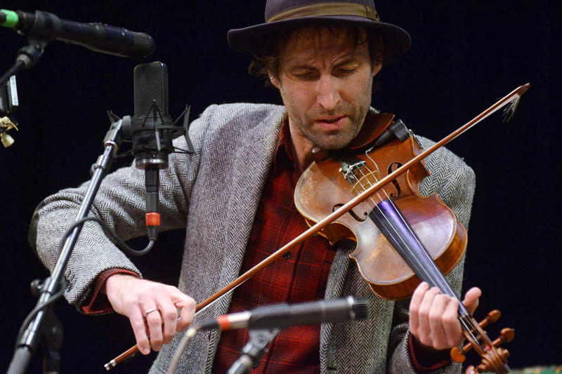 Andrew Bird, live on Mountain Stage.