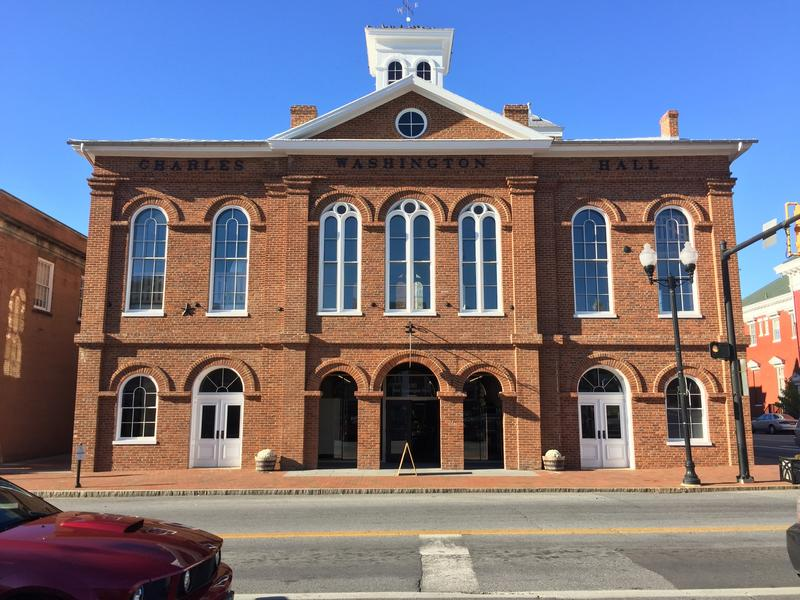 Charles Town, Jefferson County, Charles Washington Hall, Historic Rehabilitation Tax Credit