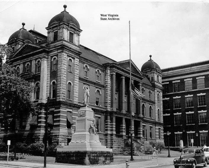 Capitol of West Virginia, 1875-85